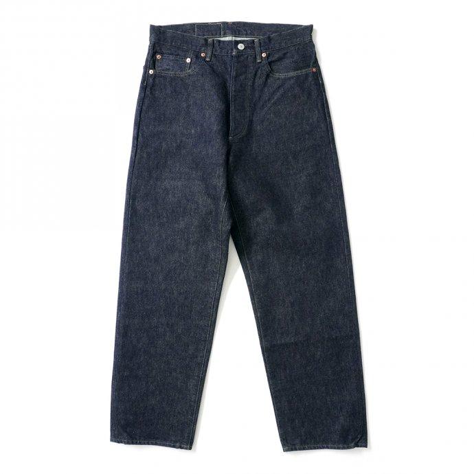 162890016 blurhms ROOTSTOCK / 13.5 Selvage Denim Pants STANDARD TAPERED - indigo ROOTS21F9 01