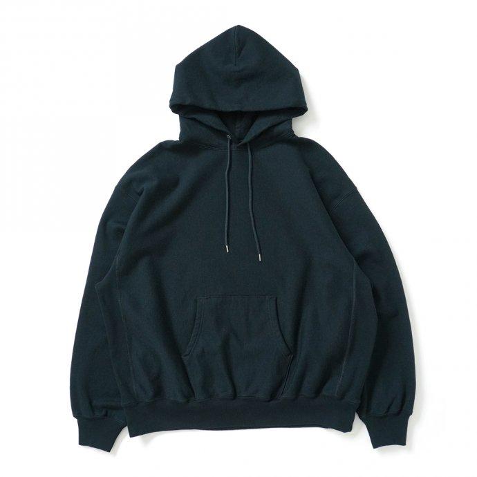 162941460 blurhms ROOTSTOCK / Soft & Hard Sweat Hoodie P/O Big - BlackGreen ROOTS21F17 01