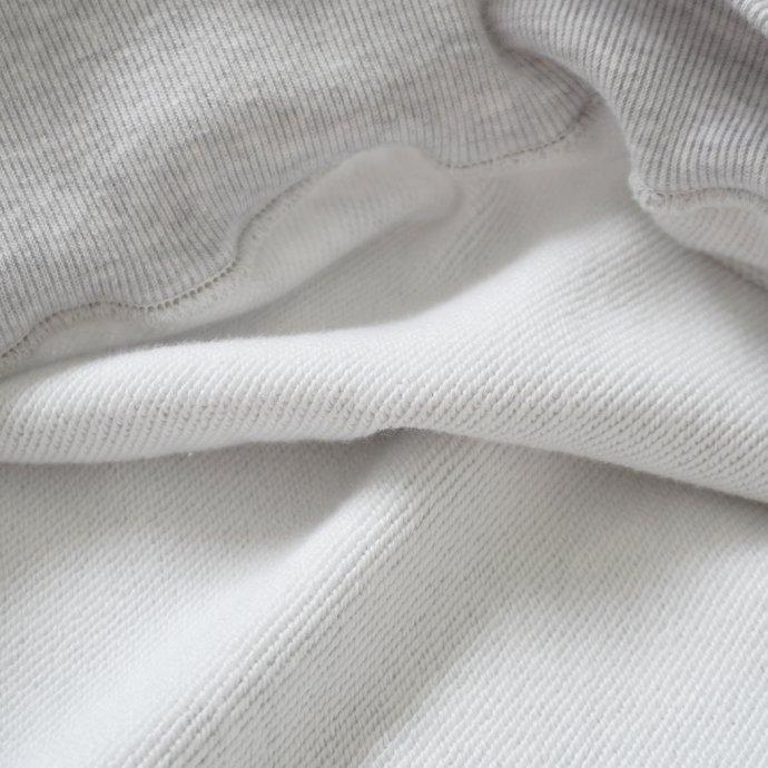 162941495 blurhms ROOTSTOCK / Soft & Hard Sweat Hoodie P/O Big - HeatherWhite ROOTS21F17 02