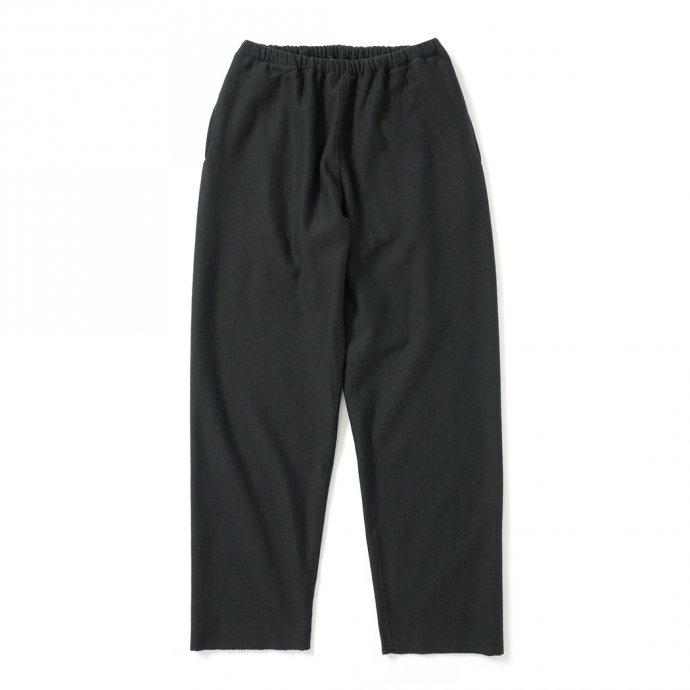 blurhms ROOTSTOCK / Soft & Hard Sweat Pants - InkBlack ROOTS21F16