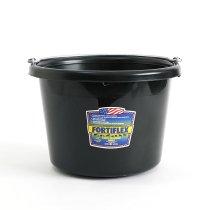 FORTIFLEX / Utility Bucket 8-Quart アメリカ製バケツ - Black