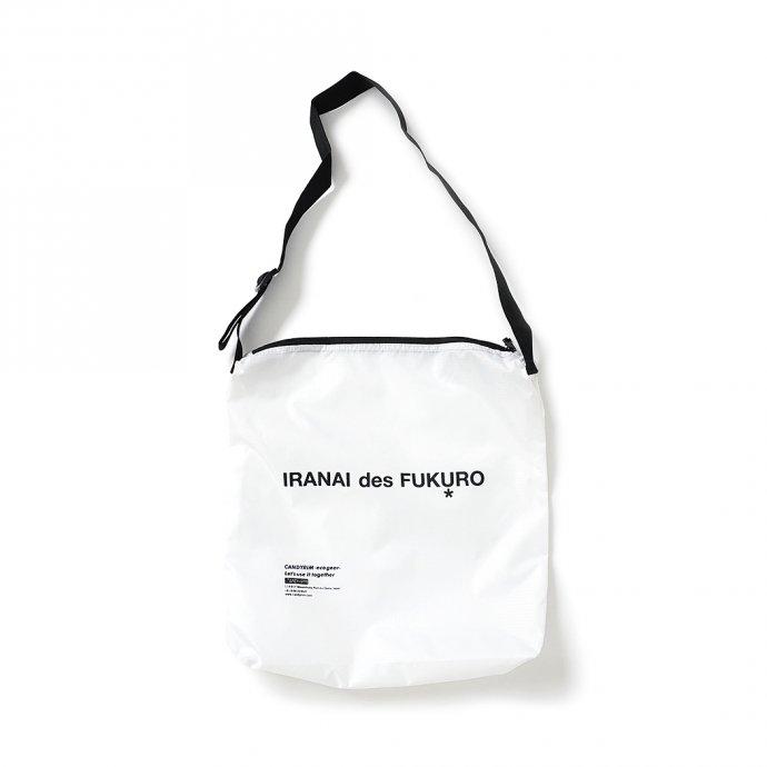 162974415 Candyrim / SQUARE SHOULDER BAG スクエア ショルダーバッグ ホワイト 01