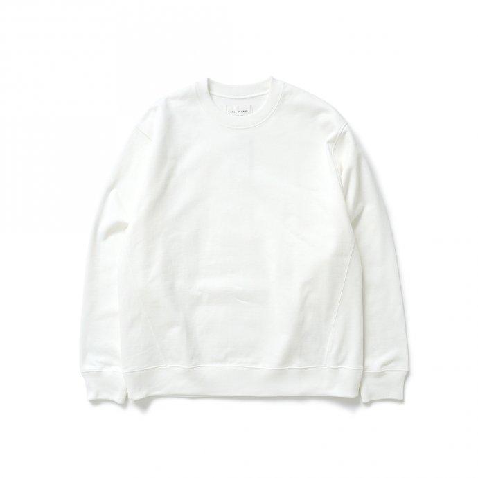 162988539 STILL BY HAND / CS01213 クルーネックスウェット - Off White 01