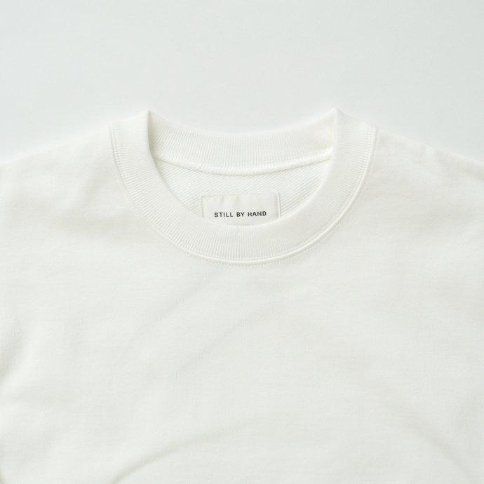 162988539 STILL BY HAND / CS01213 クルーネックスウェット - Off White 02