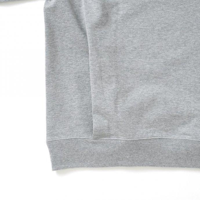 162988631 STILL BY HAND / CS01213 クルーネックスウェット - Grey 02