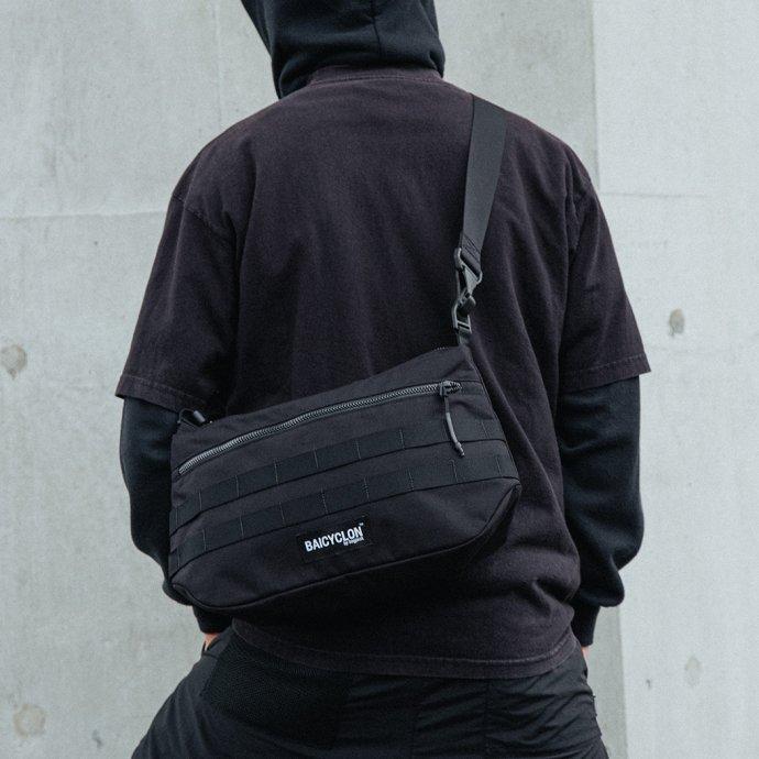 163271185 BAICYCLON by bagjack / BCL-11 Shoulder Bag バイシクロンバイバッグジャック ショルダーバッグ ブラック 02