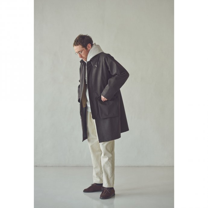 163377560 STILL BY HAND / CO03213 3レイヤーコート - Greige 02