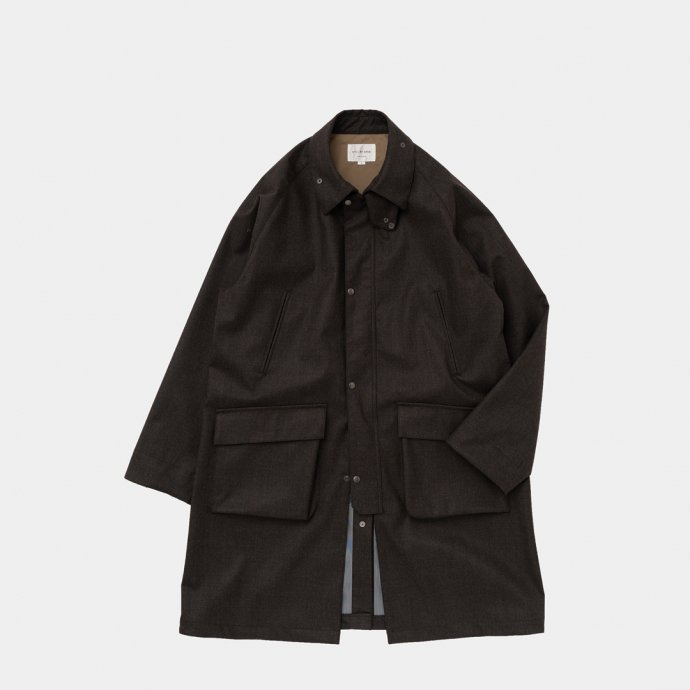 163377597 STILL BY HAND / CO03213 3レイヤーコート - Dark Brown<img class='new_mark_img2' src='https://img.shop-pro.jp/img/new/icons47.gif' style='border:none;display:inline;margin:0px;padding:0px;width:auto;' /> 01