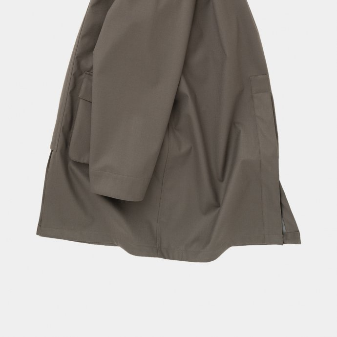 163377597 STILL BY HAND / CO03213 3レイヤーコート - Dark Brown<img class='new_mark_img2' src='https://img.shop-pro.jp/img/new/icons47.gif' style='border:none;display:inline;margin:0px;padding:0px;width:auto;' /> 02
