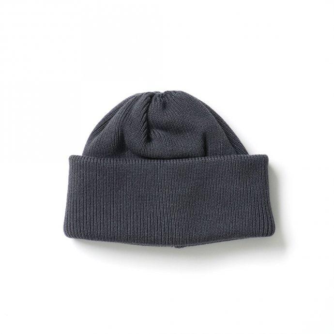 crepuscule / 2103-010 knit cap - C.Gray ニットキャップ チャコールグレー