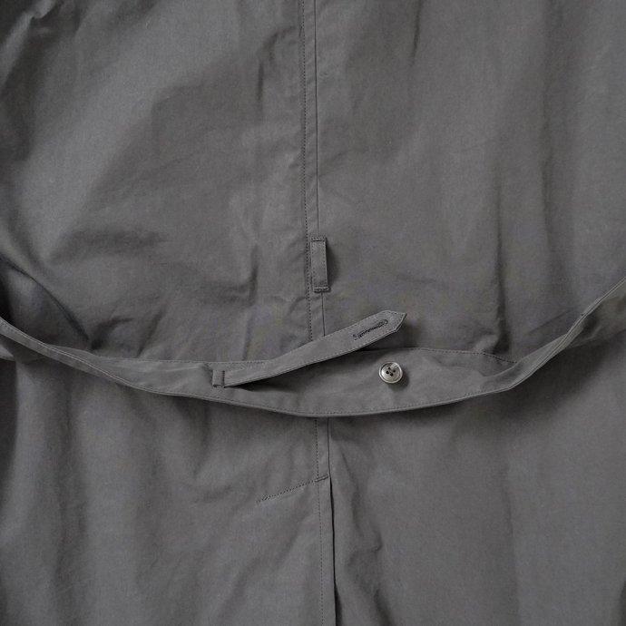 163474154 STILL BY HAND / CO02213 ウールライナー フーデッドコート - Black 02