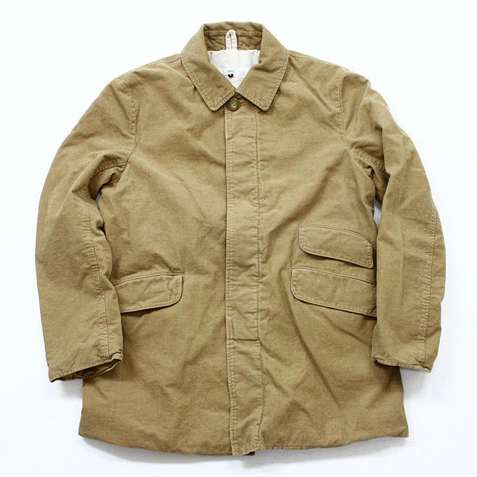 26528304 Hexico / Stand Fall Collar Short Coat / Antique Corduroy ショートコート コーデュロイ 01