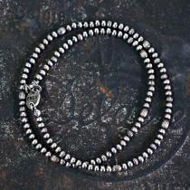 sinc / Silver Beads Necklace - Thin<img class='new_mark_img2' src='https://img.shop-pro.jp/img/new/icons47.gif' style='border:none;display:inline;margin:0px;padding:0px;width:auto;' />