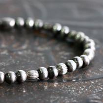sinc / Silver Beads Bracelet - Single