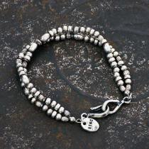 sinc / Silver Beads Bracelet - Double<img class='new_mark_img2' src='https://img.shop-pro.jp/img/new/icons47.gif' style='border:none;display:inline;margin:0px;padding:0px;width:auto;' />