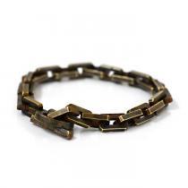 sinc / Square Chain Bracelet