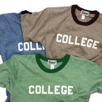 TAURUS / 70/30 College Gym T-shirts プリントTシャツ 全3色<img class='new_mark_img2' src='https://img.shop-pro.jp/img/new/icons20.gif' style='border:none;display:inline;margin:0px;padding:0px;width:auto;' />