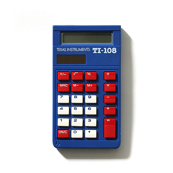 55765592 Texas Instruments / TI-108 8桁電卓<img class='new_mark_img2' src='https://img.shop-pro.jp/img/new/icons20.gif' style='border:none;display:inline;margin:0px;padding:0px;width:auto;' /> 01