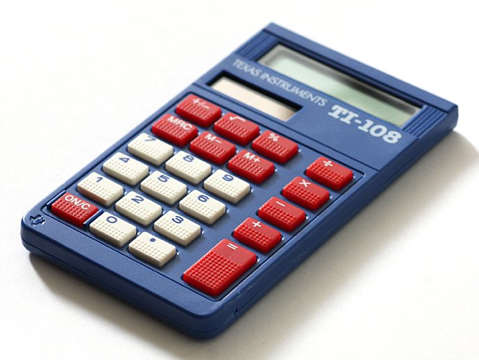 55765592 Texas Instruments / TI-108 8桁電卓<img class='new_mark_img2' src='https://img.shop-pro.jp/img/new/icons20.gif' style='border:none;display:inline;margin:0px;padding:0px;width:auto;' /> 02