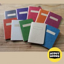 SCOUT BOOKS / Composition Notebook(コンポジション ノートブック) - 全10色