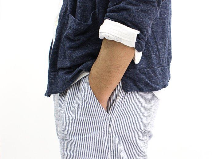 73309331 TAURUS / Linen Jersey Cardigan リネン天竺カーディガン - Grey 02