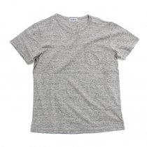 TAURUS / Flat Seamed Pocket Tee ポケットTシャツ - Heather Grey<img class='new_mark_img2' src='https://img.shop-pro.jp/img/new/icons20.gif' style='border:none;display:inline;margin:0px;padding:0px;width:auto;' />