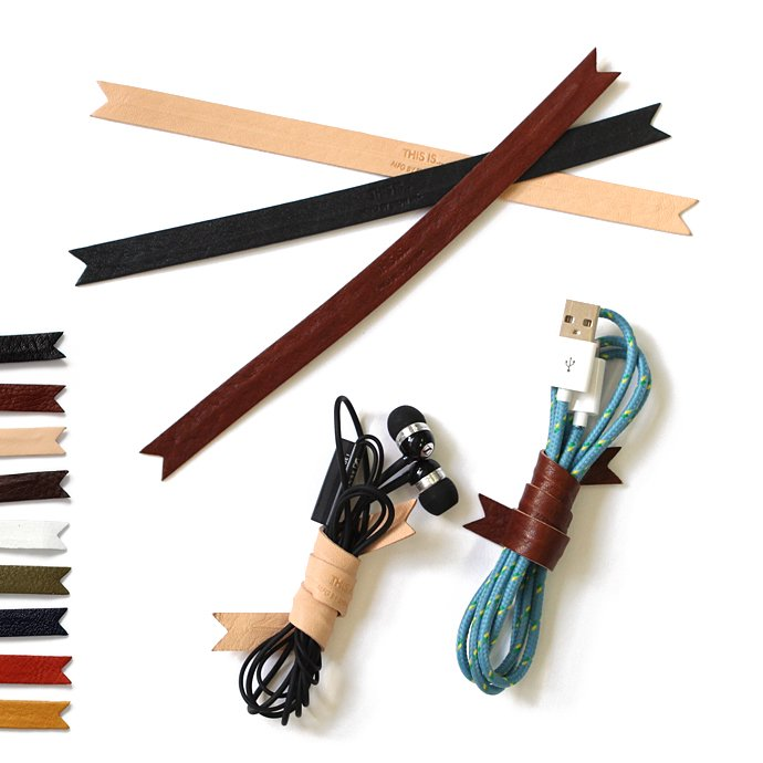 83073245 This is... / Leather Cord Ribbon レザー コードリボン 全9色 01