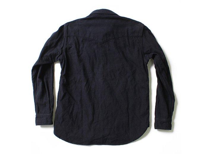 86969148 Hexico / Flannel Western Shirts フランネル ウエスタンシャツ - Over Dye Wash(全2色) 02
