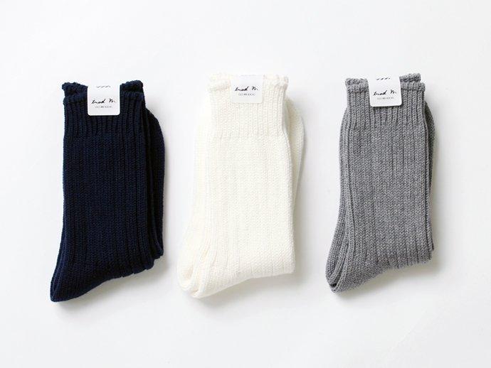 88771333 Trad Marks / Old Rib Socks リブソックス - Grey 02