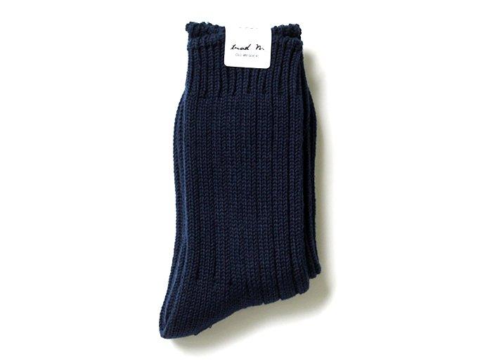 88771448 Trad Marks / Old Rib Socks リブソックス - Navy 02