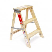 Michigan Ladder Company / Wood Step Ladder ウッドステップラダー - Size 2<img class='new_mark_img2' src='https://img.shop-pro.jp/img/new/icons47.gif' style='border:none;display:inline;margin:0px;padding:0px;width:auto;' />