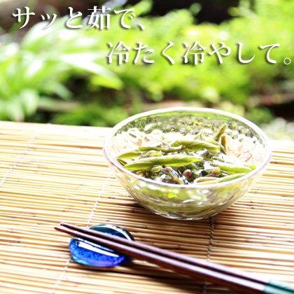 生じゅんさい500gセット【比内地鶏スープ・白神山水・ゆずタレ付き】の写真2