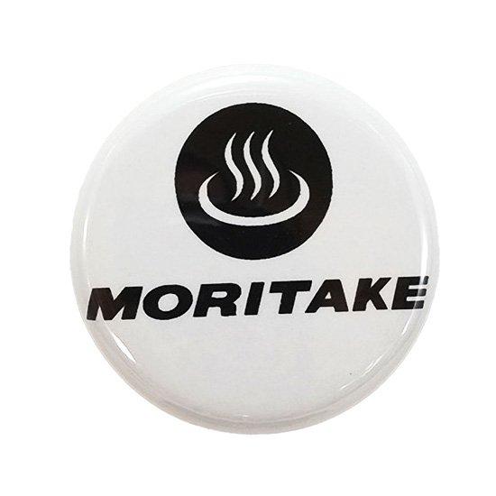 森岳温泉缶バッジ「MORITAKE」
