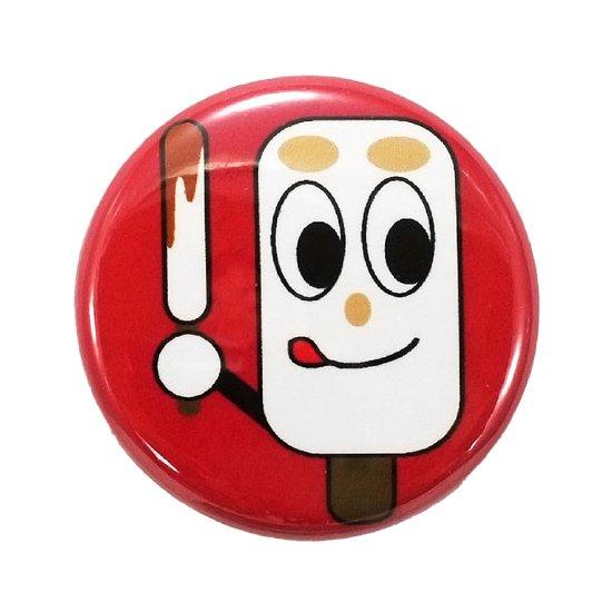きりたんぽ缶バッジ「ミニキリタンポ・まめタン」