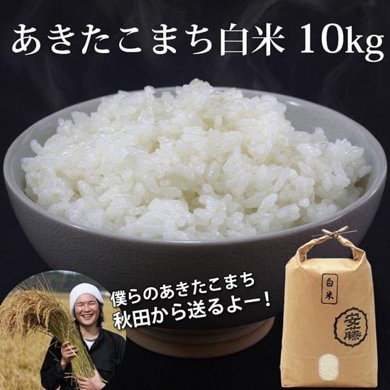 新米あきたこまち 白米10kg 秋田県産【令和2年(2020年)秋収穫】