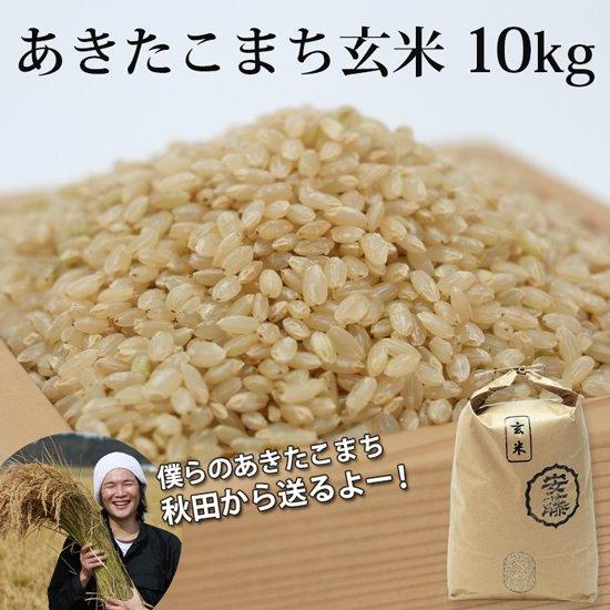 新米あきたこまち 玄米10kg 秋田県産【令和3年(2021年)秋収穫】