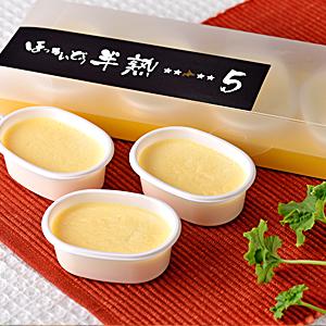 洋菓子アリス ほっかいどう半熟5(ファイブ) 5個入り 【冷凍品】
