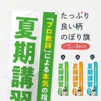 のぼり 夏期講習/学習塾・予備校 のぼり旗