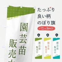 のぼり 園芸苗販売中 のぼり旗