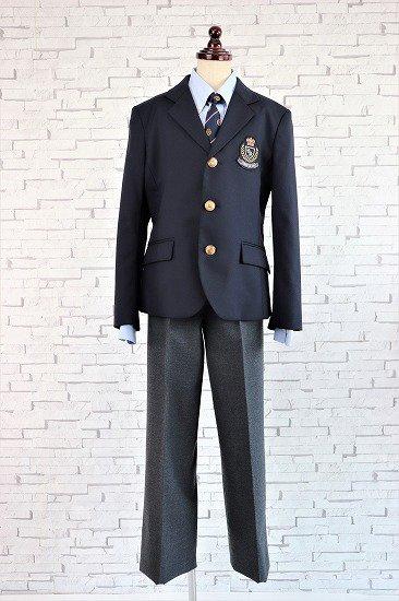【レンタル】No429 コムサイズム男の子フォーマルスーツ4点セット140cm(小さめ)