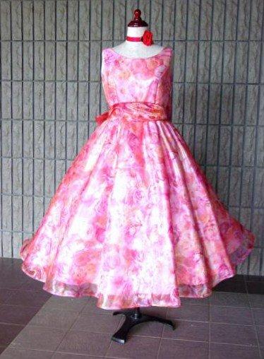 花柄ドレス【レンタルのみ】