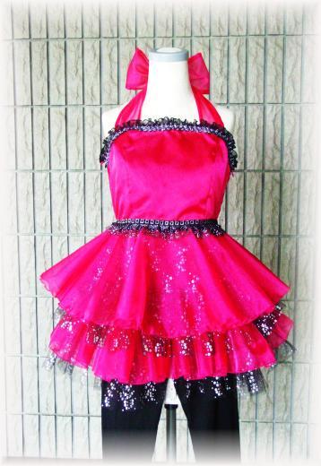 おしゃれなエレクトーン用ピンクドレス 【オーダーのみ】