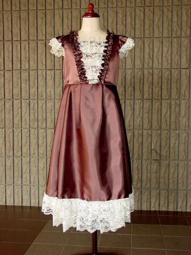 302【アウトレットドレス140cm】