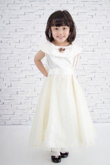 【アウトレットドレス】No303 上品なベージュドレス
