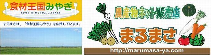 【まるまさ】食材王国みやぎより農産物を全国にお届けします。