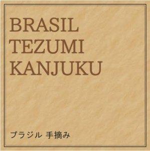ブラジル・セラード/手摘み完熟豆 中深煎り     100g/¥680 200g/¥1210 500g/¥2550