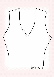 <img class='new_mark_img1' src='https://img.shop-pro.jp/img/new/icons25.gif' style='border:none;display:inline;margin:0px;padding:0px;width:auto;' />ネックラインデザイン/Vネック(深め&シャープ)