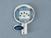 十二月窯 一輪(丸) 箸置き