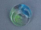 梶原理恵子 ラウンド箸置き ブルー×グリーン