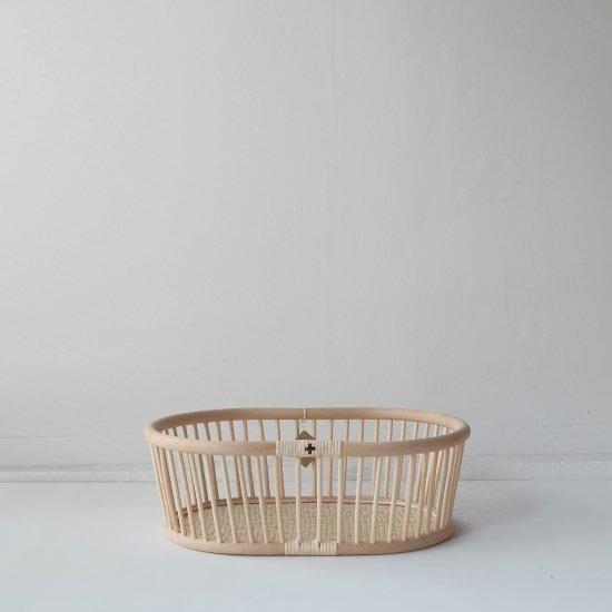 エフスタイル-籐のかご(楕円)